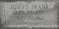 Joseph Frank Adams