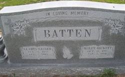 Gladys <i>Sasser</i> Batten