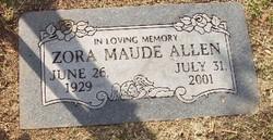 Zora Maude <i>Sellers</i> Allen