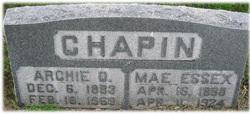 Rosalie Mae <i>Essex</i> Chapin