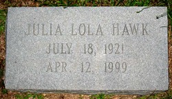 Julia Lola <i>Horne</i> Hawk