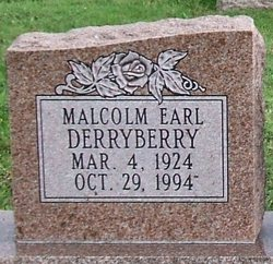 Malcolm Earl Derryberry