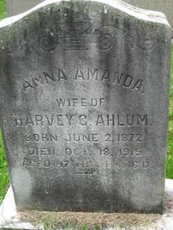 Anna Amanda <i>Delp</i> Ahlum