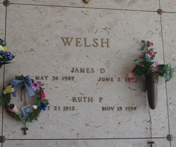 James D Welsh