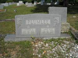 Janie Mae <i>Jones</i> Plumlee