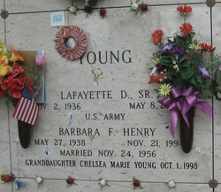 Lafayette D Young, Sr
