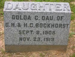 Golda C Bockhorst