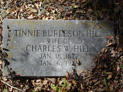 Tinnie <i>Burleson</i> Hill