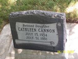 Cathleen Cannon