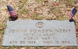Joseph Bowden Joe Neely, Jr