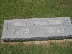 Lina Mae <i>Tankersley</i> Ballow