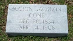 Aaron Jackson Cone