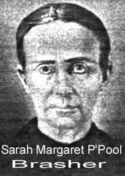 Sarah Margaret <i>P Pool</i> Brasher