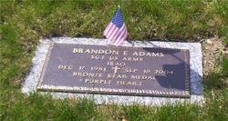 Sgt Brandon E. Adams