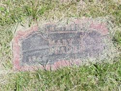 Mary V. <i>Fort</i> Braden