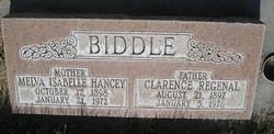 Melva Isabelle <i>Hancey</i> Biddle