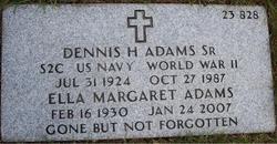 Dennis H Adams, Sr