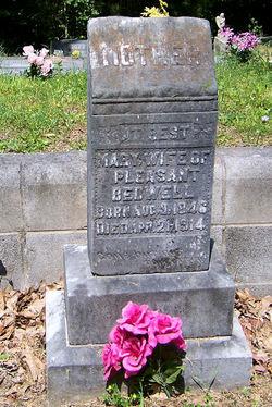 Mary Elizabeth <i>Rhodes</i> Bedwell