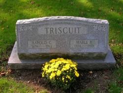 Mabel <i>Burton</i> Triscuit