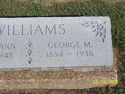 George Mitchell Williams