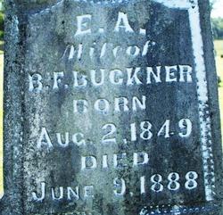 Elizabeth Ann <i>Woodham</i> Buckner