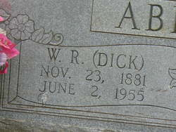 William Richard Dick Abbott