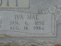 Iva Mae <i>Lassiter</i> Abbott