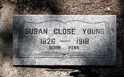 Susan <i>Close</i> Young
