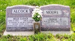 Mildred Millie <i>Slaback</i> Alcock