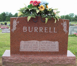 Martha Pauline <i>Hartsock</i> Burrell