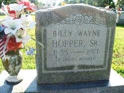 Billy Wayne Hopper, Sr
