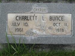 Charlett L Bunce