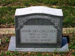 Annie Melinda <i>Dix</i> Chessher