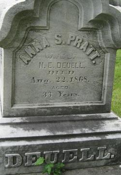 Anna S. <i>Pratt</i> Deuell