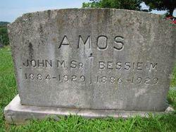 Bessie M Amos