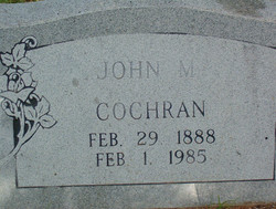 John Martin Cochran