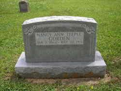 Nancy Ann <i>Teeple</i> Gorden