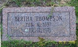 Bertha Thompson