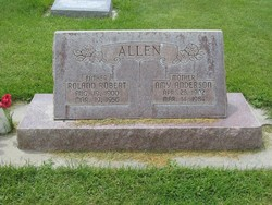 Amy Ruth <i>Anderson</i> Allen