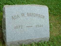 Ada W Aaronson
