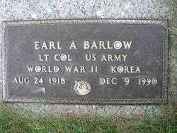 Earl A Barlow