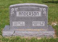 Hulda C. <i>Johnson</i> Anderson
