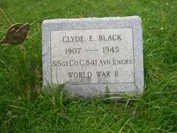 Sgt Clyde E Black