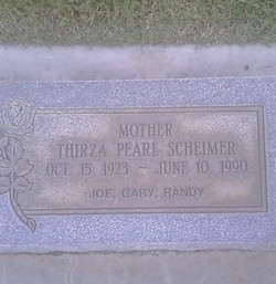 Thirza Pearl <i>Anderson</i> Scheimer
