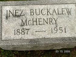 Ines <i>Buckalew</i> McHenry