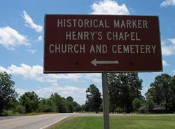 Henrys Chapel Cemetery