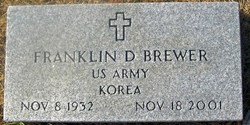 Franklin D R E Brewer