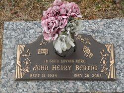 John Henry Stormy Benton
