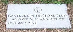 Gertrude M <i>Huber Pulsford</i> Selby