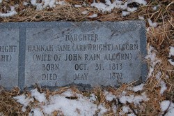 Hannah Jane <i>Arkwright</i> Alcorn